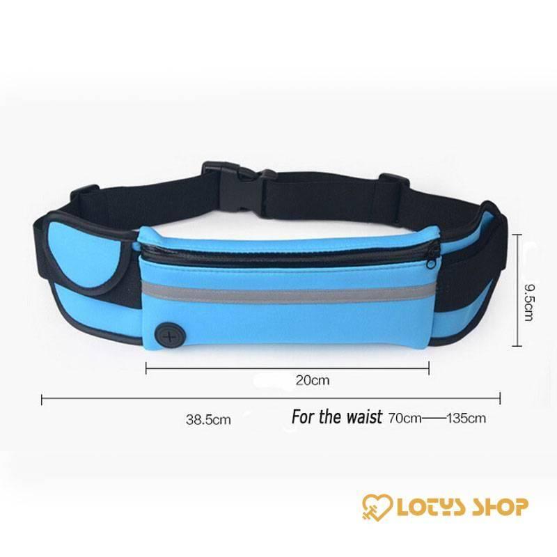 Waterproof Running Sport Waist Bag Accessories Bags and Luggage Men's Bags and Luggage Women's Bags and Luggage color: Black|Fluorescent Green|Orange|Purple|Sky Blue