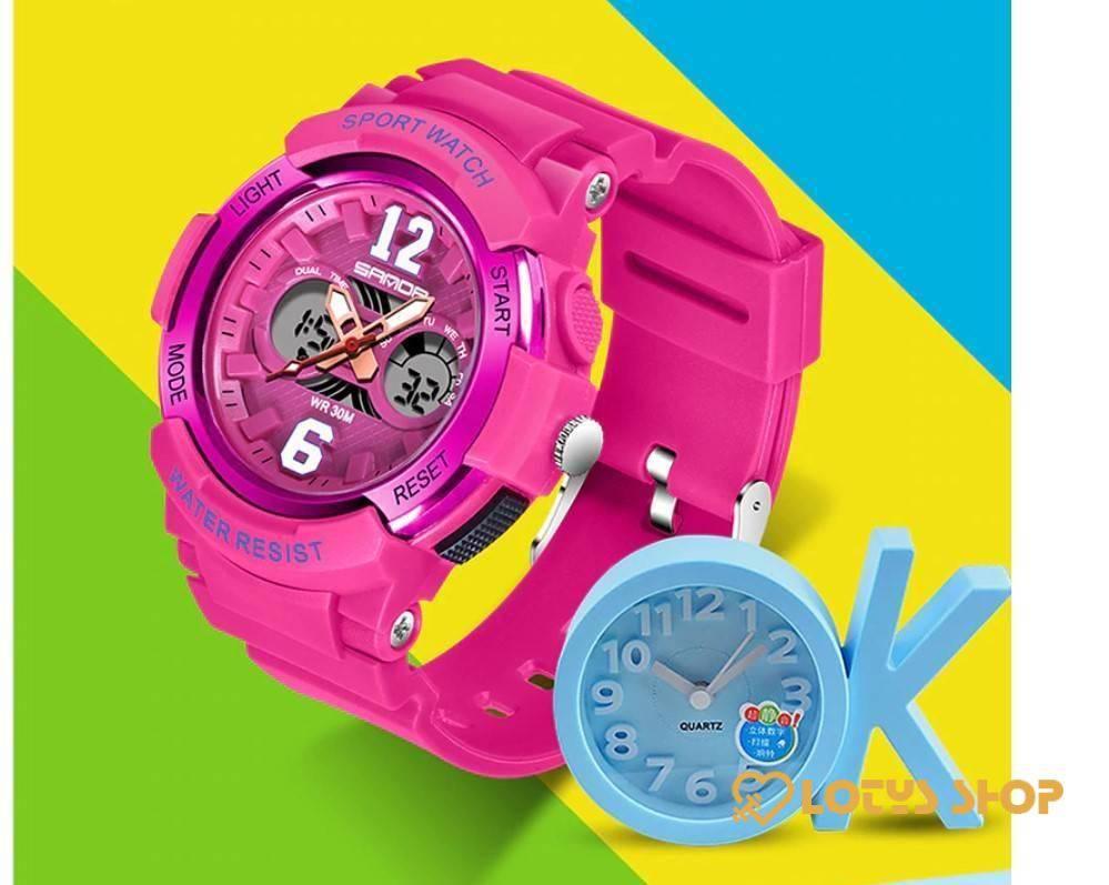Women's Waterproof LED Sports Watch