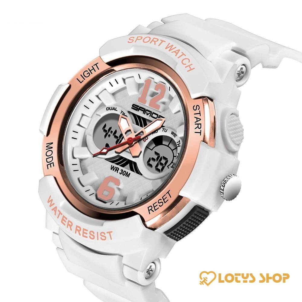 Women's Waterproof LED Sports Watch Accessories Watches Women's watches color: Black|Gold White|rose|Rose White|White