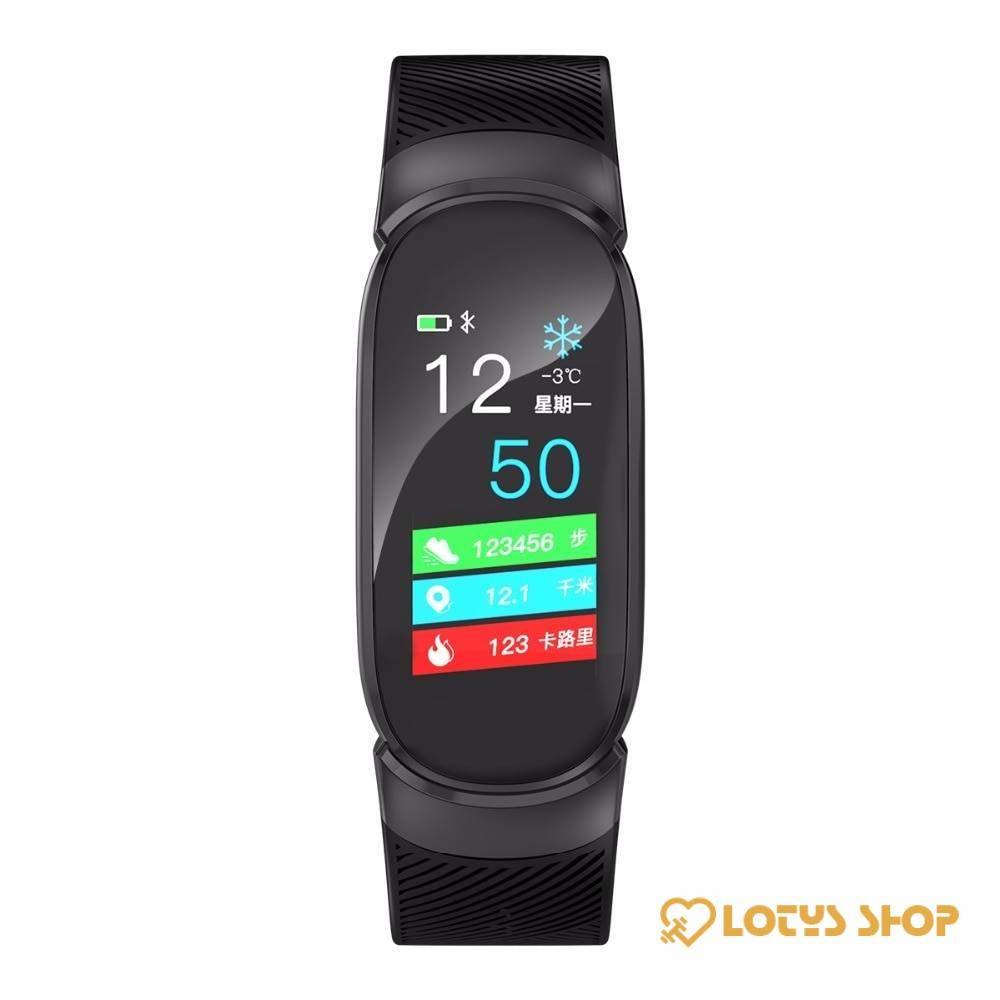 Women's Fashion Waterproof Oval Smart Watch Accessories Watches Women's watches color: Black|Blue|Pink