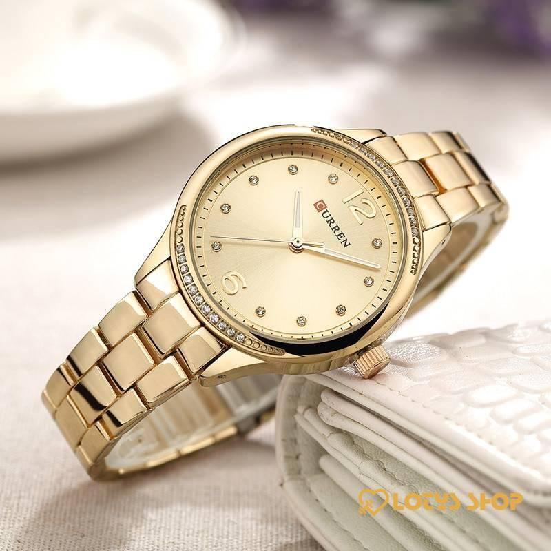 Women's Round Shaped Quartz Watch Accessories Watches Women's watches color: Gold Gold White Rose Gold Rose Gold/White Silver