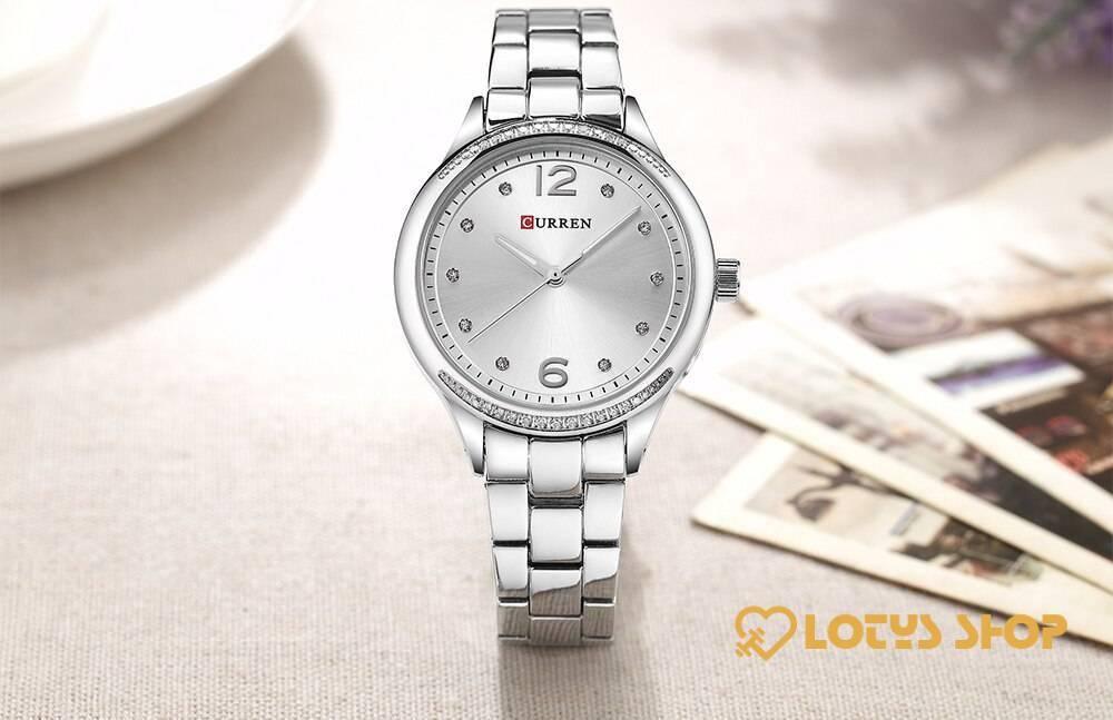 Women's Round Shaped Quartz Watch