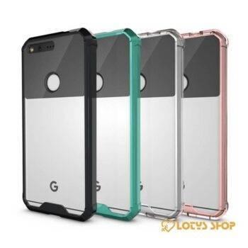 Slim Hybrid Plastic Cover Case for Google Phone Accessories Cases Mobile Phones 11ad8c90d8b16ec4dc9ab1: Google Pixel|Google Pixel XL
