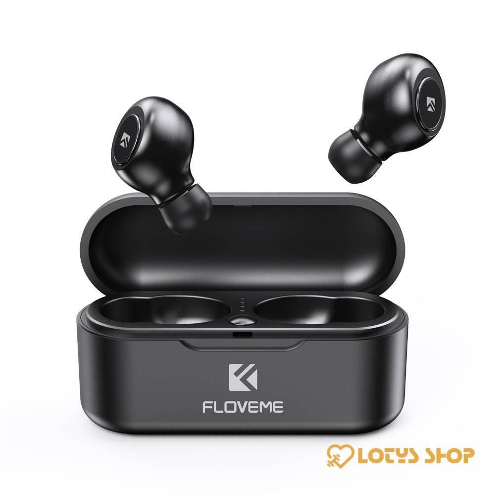 Mini Wireless Bluetooth 5.0 Headphones Accessories Headphones Mobile Phones color: Double Ear|Single Ear