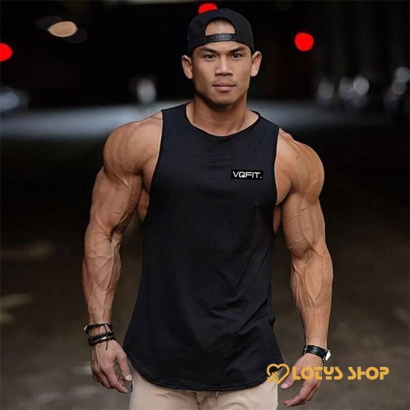 Men's Cotton Sport Tank Top