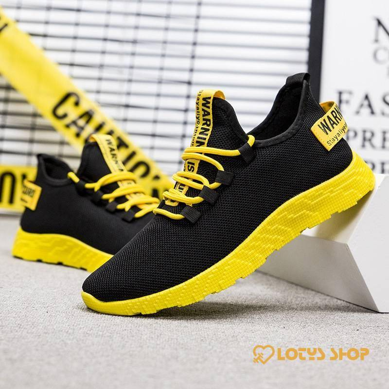 Men's Sport Vulcanize Shoes Men Sport Shoes Men's sport items Sport items color: Black|Red|Yellow