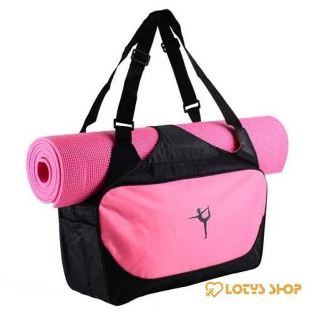 Yoga Design Printed Waterproof Unisex Sport Bag Accessories Bags and Luggage Men's Bags and Luggage Women's Bags and Luggage color: Blue|Green|Pink|Purple|rose
