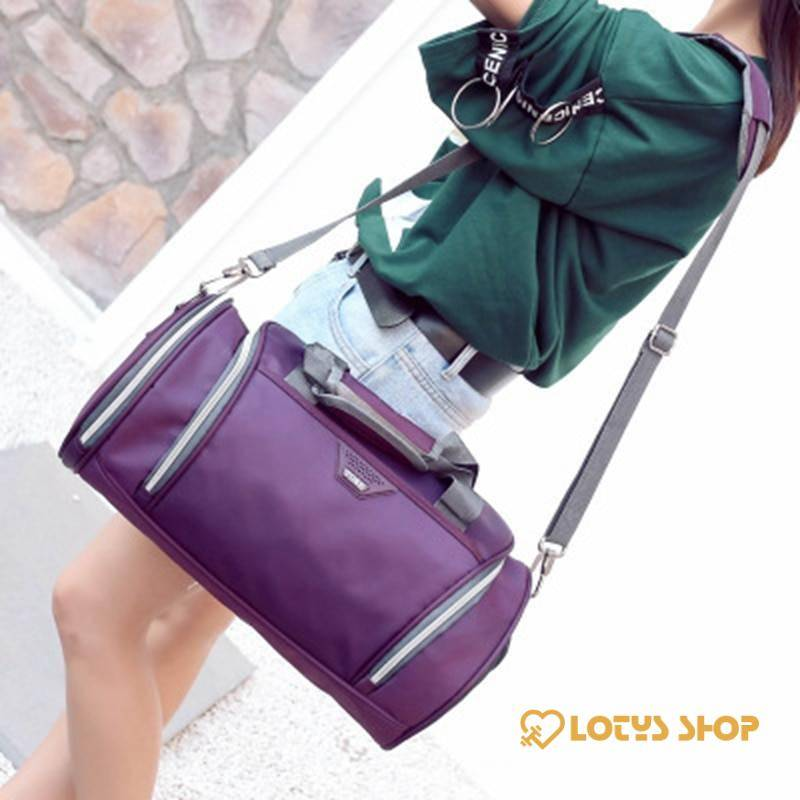 Waterproof Sport Bag Accessories Bags and Luggage Women's Bags and Luggage color: Black|Blue|Drak Blue|Purple|Red