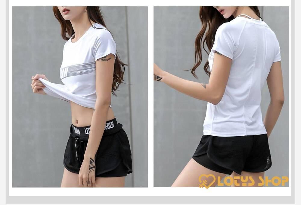 Women's O-Necked Short Sleeved T-Shirt