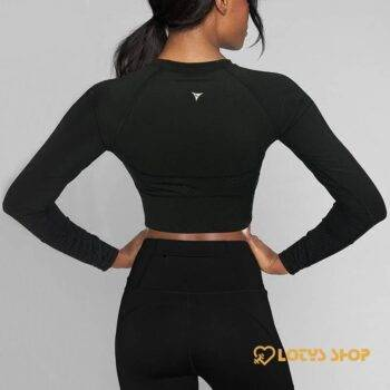 Women's Long Sleeved Gym T-Shirt Sport items Women Sport Tops Women's sport items Women's T-Shirts color: Black|Blue|Multi