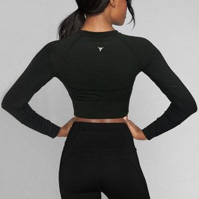 Women's Long Sleeved Gym T-Shirt Sport items Women Sport Tops Women's sport items Women's T-Shirts color: Black|Blue|Multi