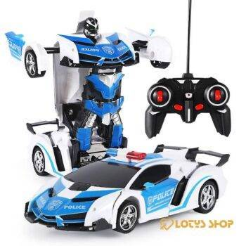 2 in 1 Transformer RC Car Toys color: Blue|Gold|Orange|Red|SLIVER|White|Yellow