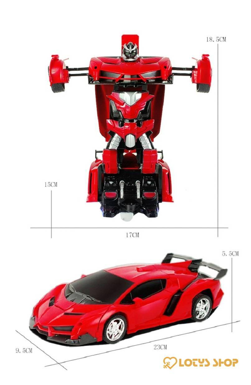 2 in 1 Transformer RC Car Toys color: Blue Gold Orange Red SLIVER White Yellow
