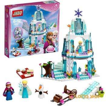 Lego Elsa's Princess Ice Castle Toys color: with box|without box