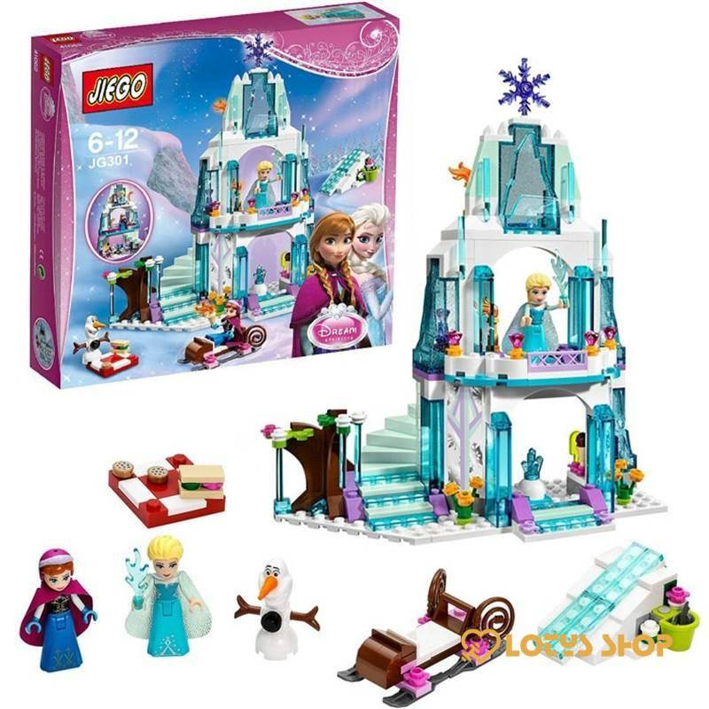 Lego Elsa's Princess Ice Castle