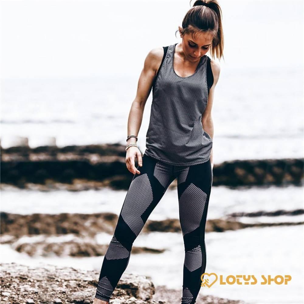 Women'sMultitype Elastic Fitness Leggings