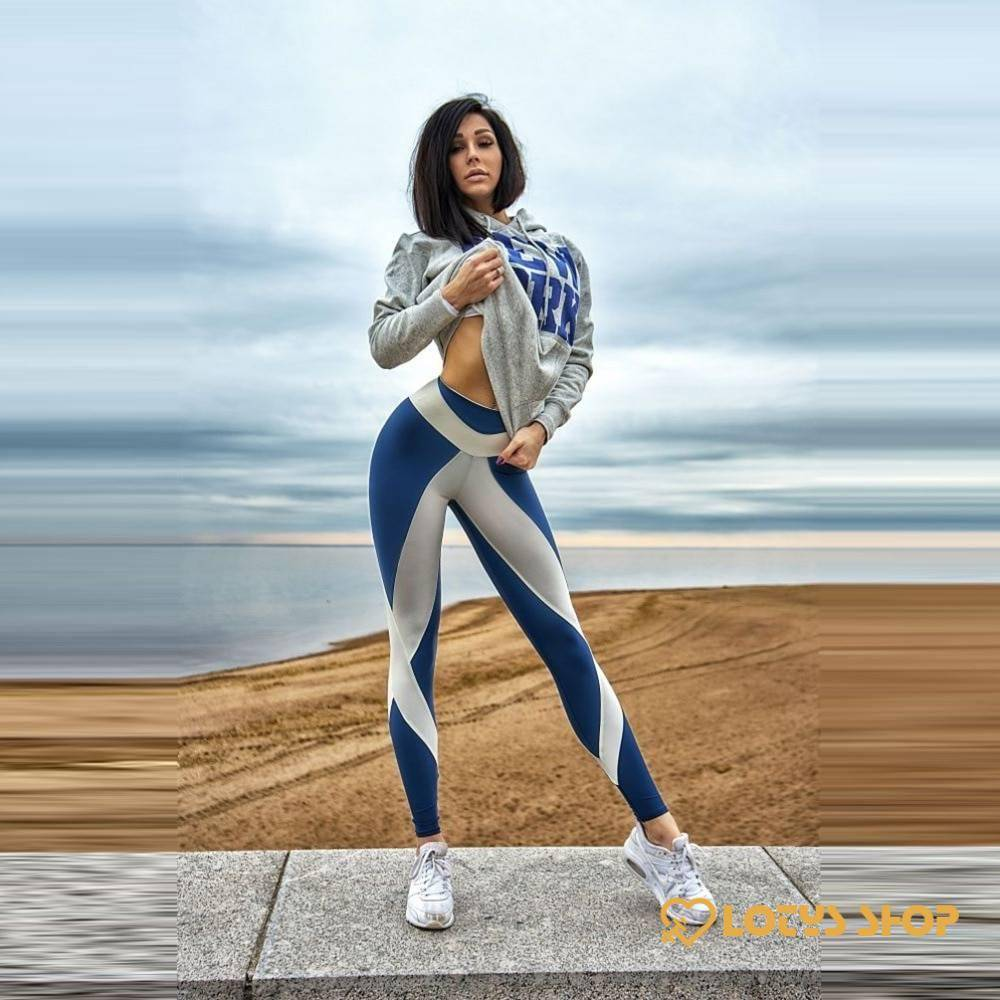 Women'sSport Style High Waist Elastic Leggings