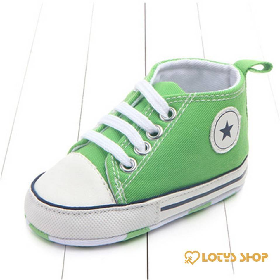 Baby's Sports Canvas Shoes