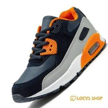 Kids' Casual Air Cushion Sport Shoes Kids sport items Sport items color: Black|Blue|Dark Grey|White