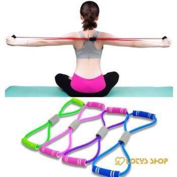 Elastic Resistance Bands for Yoga Sport Gadgets color: Blue|Green|Pink|Purple