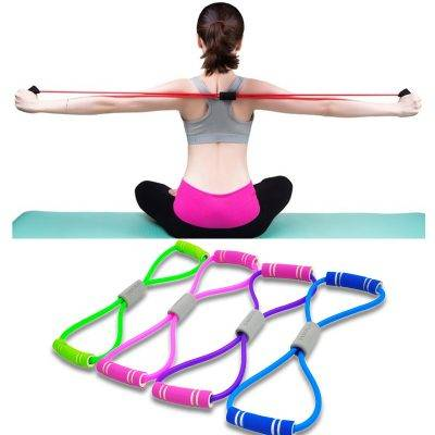 Elastic Resistance Bands for Yoga Sport Gadgets color: Blue|Green|Pink|Purple