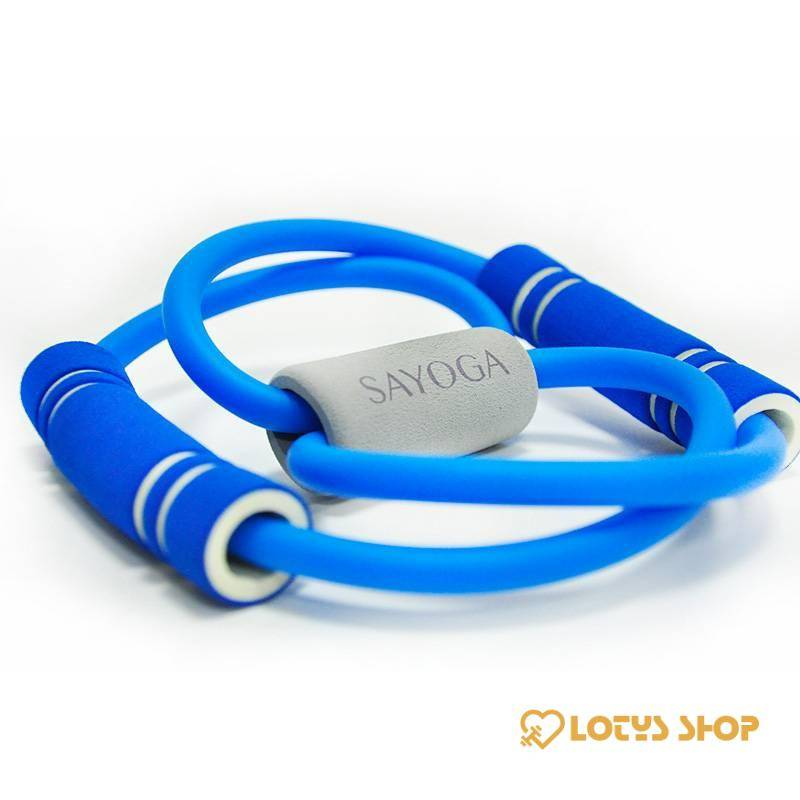 Elastic Resistance Bands for Yoga Sport Gadgets color: Blue Green Pink Purple