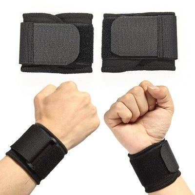 Elastic Soft Pressurized Wrist Band Sport Gadgets color: Black|Blue