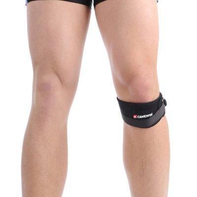 Elastic Knee Support Bandage Sport Gadgets color: Black|Blue