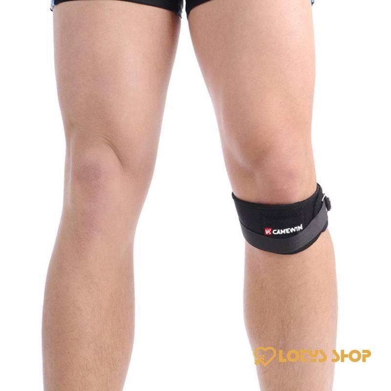 Elastic Knee Support Bandage Sport Gadgets color: Black Blue