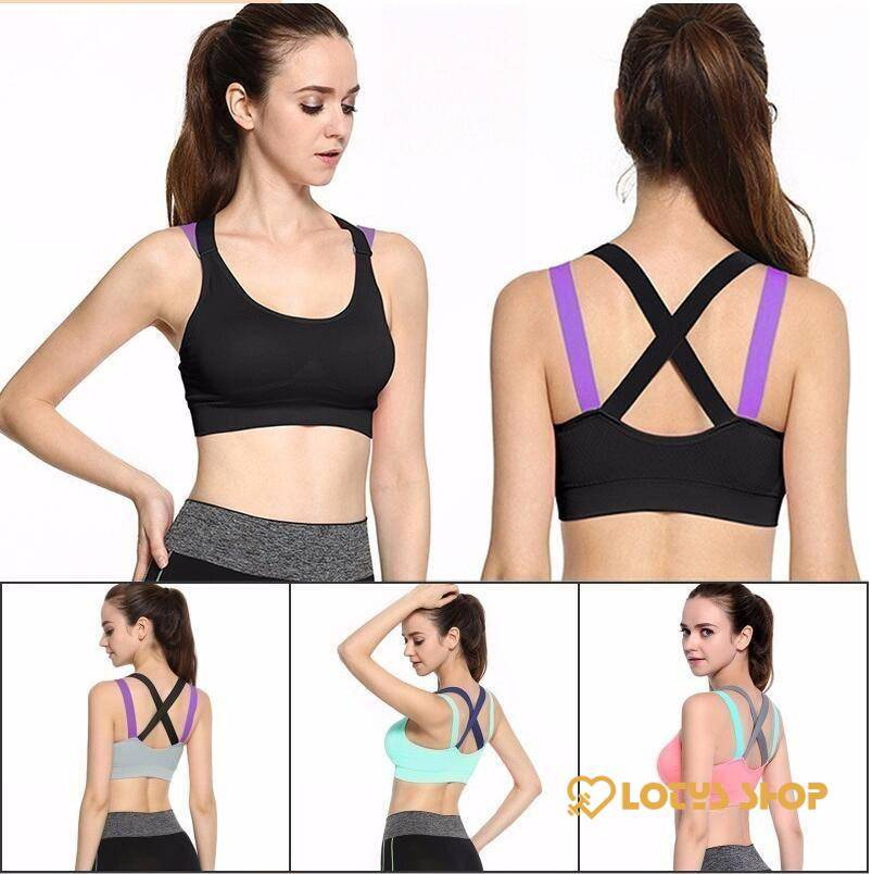Women's Breathable Cotton Sports Bra