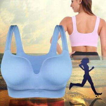 Padded Crop Sports Bra Sport items Sports Bras Women's sport items color: charming pink|classic black|elegant blue|fashion apricot|hot rose red|sexy white