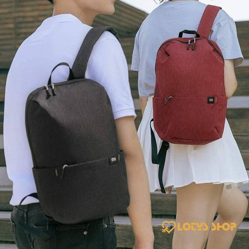 10L Candy Color Sports Backpack Accessories Bags and Luggage Men's Bags and Luggage color: Black|Bright blue|deep blue|Green|Orange|Pink|Yellow