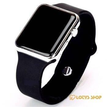 Men's Sport Digital Watch Accessories Men's watches Watches color: Black Gold|black purple|Black Rose gold|black silver|full black|White / Blue|white gold|white purple