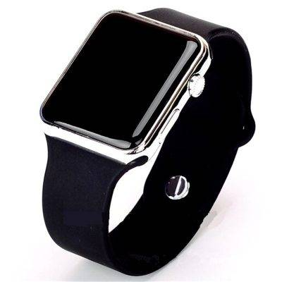 Men's Sport Digital Watch Accessories Men's watches Watches color: Black Gold|black purple|Black Rose gold|black silver|full black|White / Blue|white gold|white purple