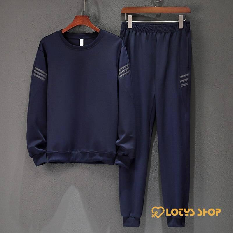 Long Sleeve Men's Fitness Tracksuits