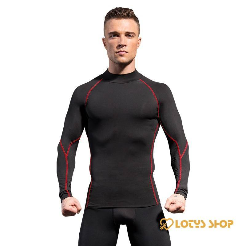Men's Tight Longsleeve for Fitness