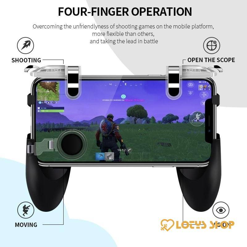 Integrated Handheld Mobile Game Controller Best Seller Gaming & Entertainment 371885a1be0c429f3bba5b: 1pcs|2pcs|K21|S6|S7|S8|S9|Transparent|Transparent 1|Transparent 2|Transparent 3|Transparent 4