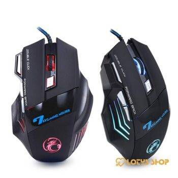 Professional Wired Gaming Mouse Gaming & Entertainment color: Silent with box|Silent without box|Sound with box|Sound without box