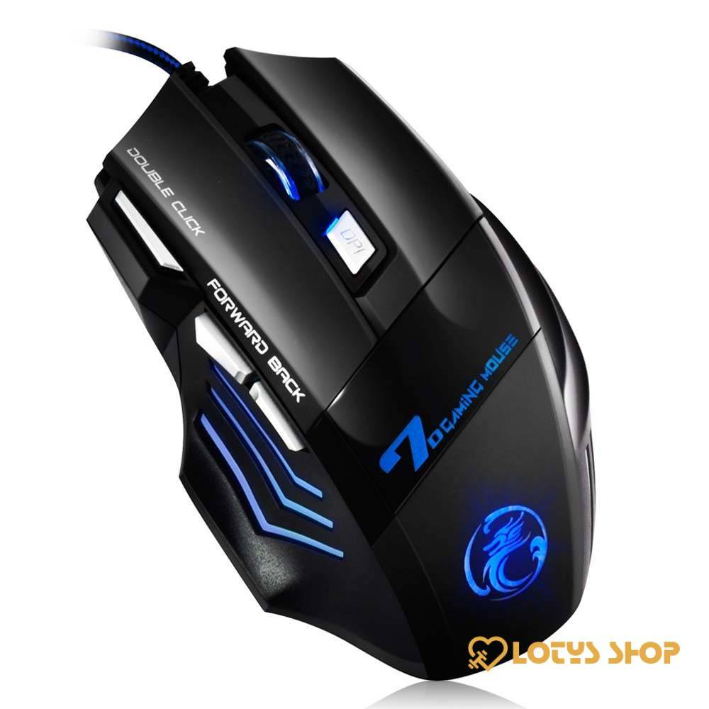 Professional Wired Gaming Mouse Gaming & Entertainment color: Silent with box Silent without box Sound with box Sound without box