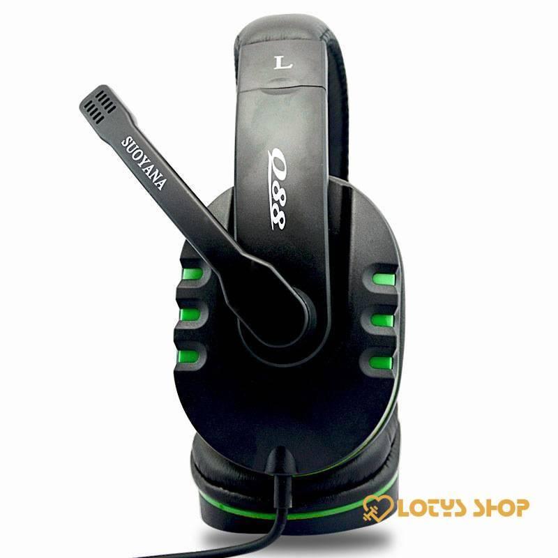 Stereo Deep Bass Gaming Headphones