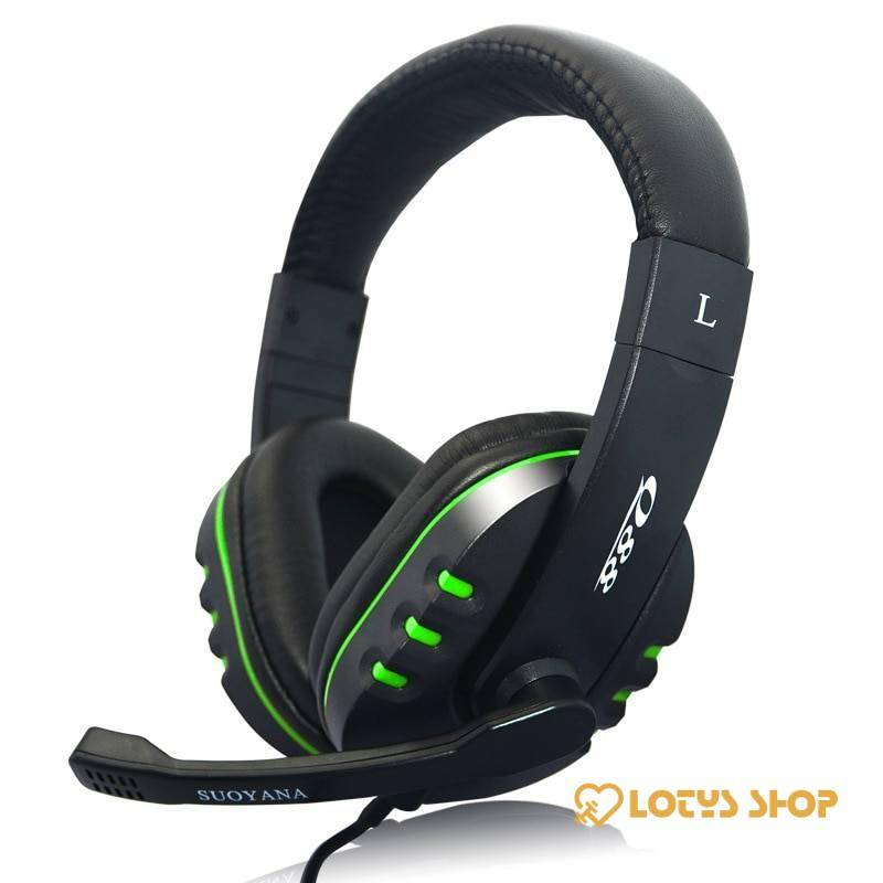 Stereo Deep Bass Gaming Headphones Gaming & Entertainment color: Blue LED PC|Blue LED PS4|Green No LED PC|RED LED PC|Red No LED PC