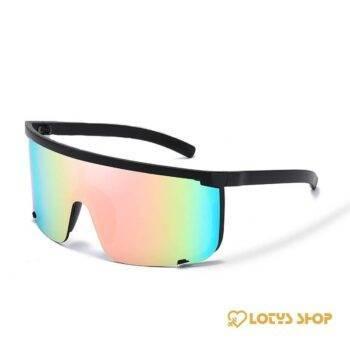 Oversized Mask Shaped Sport Sunglasses Outdoor Sports af7ef0993b8f1511543b19: C1 C2 C3 C4 C5 C6 C7