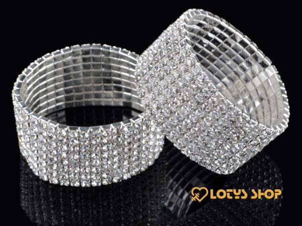 Fashion Rhinestone Crystal Elastic Bracelets Accessories Jewelry color: 1|2|3|4|5|6|7|8