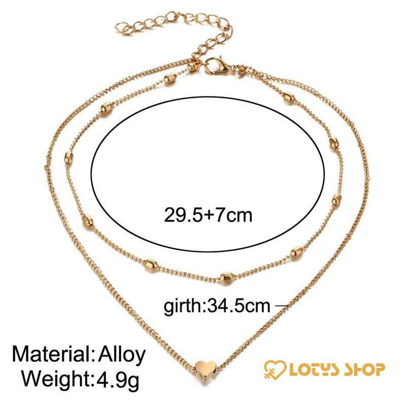Women's Double Choker Necklaces Accessories Jewelry 8d255f28538fbae46aeae7: Gold|Silver