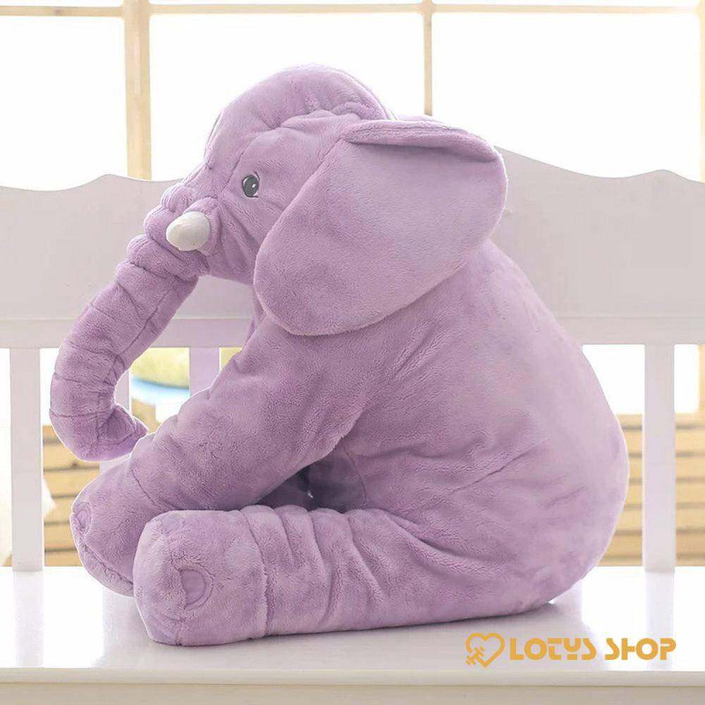Kid's Soft Plush Elephant Stuffed Toy