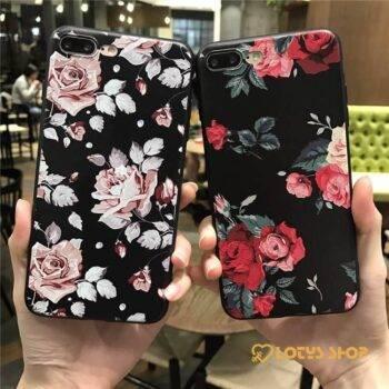 Floral Printed Silicone Phone Cases Accessories Cases Mobile Phones 11ad8c90d8b16ec4dc9ab1: iPhone 5, 5S|iPhone 6 6S|iPhone 6, 6S Plus|iPhone 7|iPhone 7 Plus|iPhone 8|iPhone 8 Plus|iPhone X