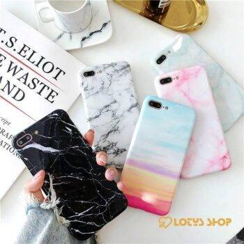 Hard iPhone Cases with Gradient Color and Marble Patterns Accessories Cases Mobile Phones color: 1|10|11|12|13|14|15|16|17|18|19|2|20|21|22|23|24|25|26|27|28|29|3|30|31|32|4|5|6|7|8|9