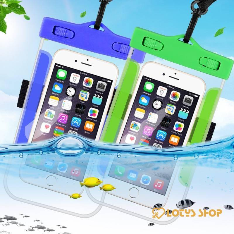 Waterproof Mobile Phone Cases Accessories Cases Mobile Phones color: Black|Blue|Pink|White