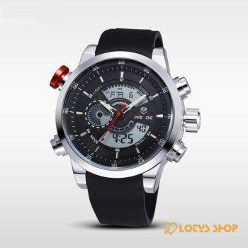 Men's Waterproof Sports Watch Accessories Men's watches Watches color: All Black|Black Dial|Blue Hands|Red Hands|White Dial|Yellow Hands