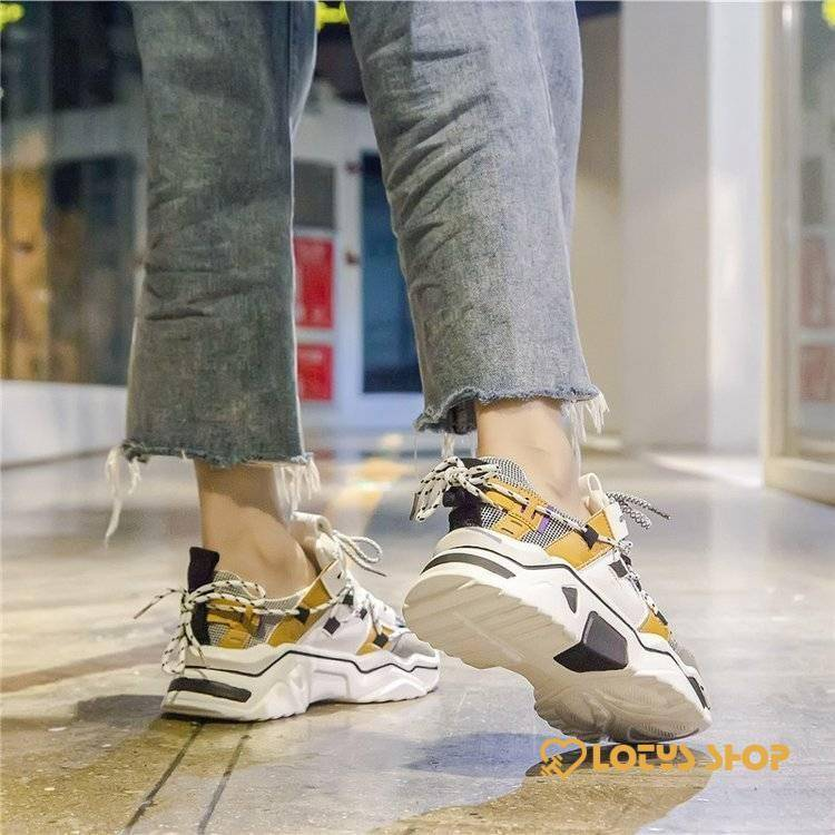 Casual Lace Up Women's Sneakers